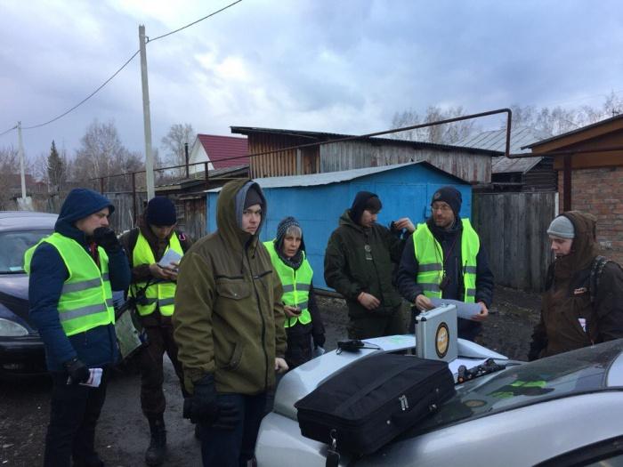 В поисках участвуют добровольцы отряда «Лиза Алерт», полиция и местные жители