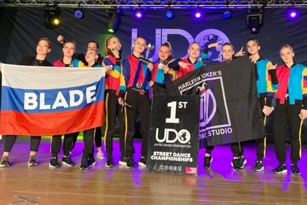 Фото победительницы из команды Blade