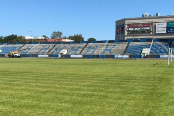 Стадион уже готов принимать матчи