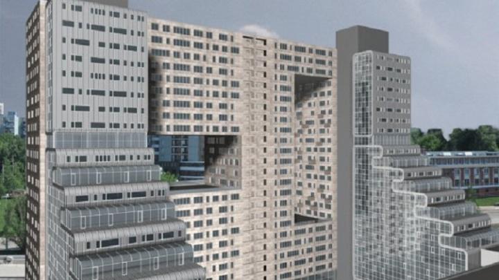 Каменный каскад: появились эскизы жилого комплекса, который собираются построить на месте KIN-UP