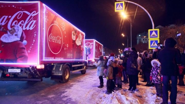«Рождественский караван» Coca Cola отправляется в путешествие по стране. В Тюмень заедет?