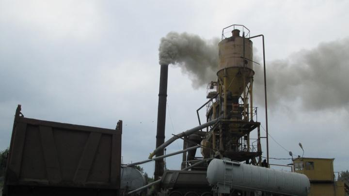 Жители посёлка Горячий Ключ пожаловались на проблемы с дыханием из-за выбросов