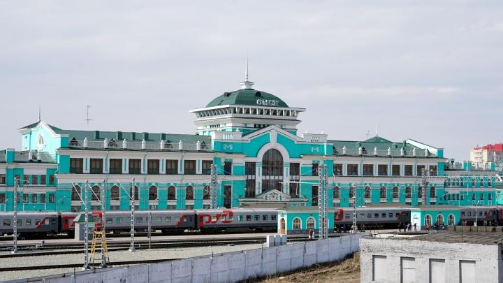 В Омске отменили электрички до Казахстана