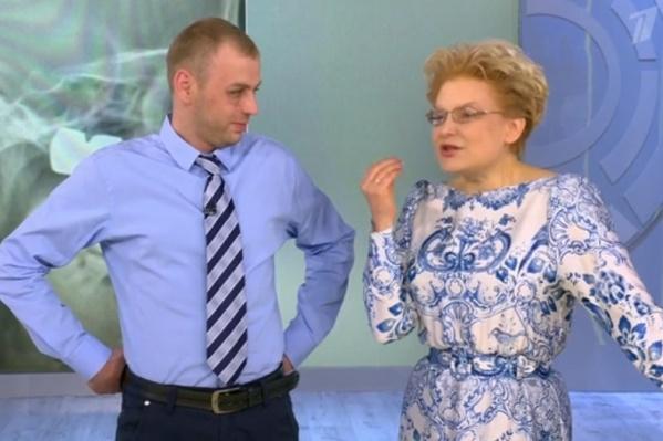Мужчина уже оправился от происшествия и приехал в Москву на съемки программы