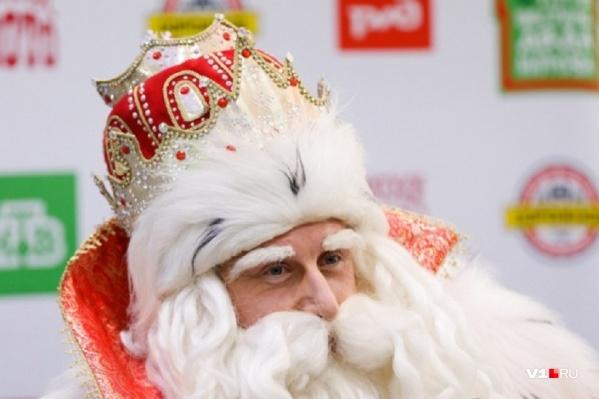 Главный Дед Мороз страны в Волгоград ехать не захотел