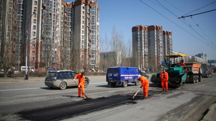 Власти объявили о новом ремонте пути в Академгородок: на всей Владимировской поменяют асфальт