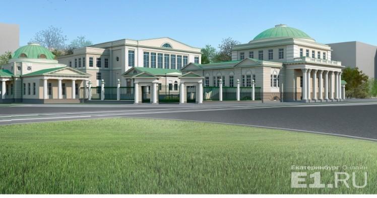 Так должен выглядеть восстановленный госпиталь с галереей