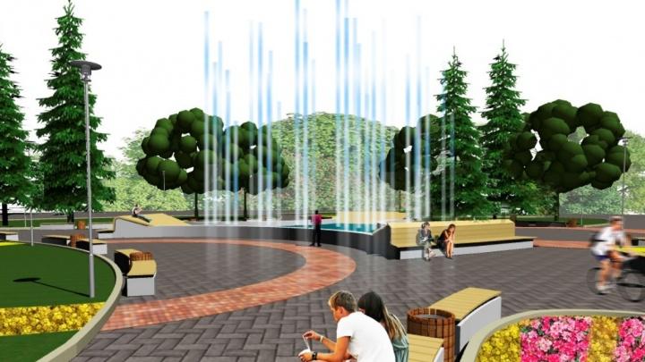 Екатеринбуржцев позвали обсудить судьбу сквера, где старый фонтан превратили в большой цветник