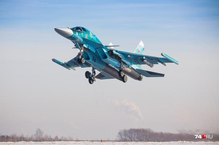 Су-34 является лучшим бомбардировщиком армии России