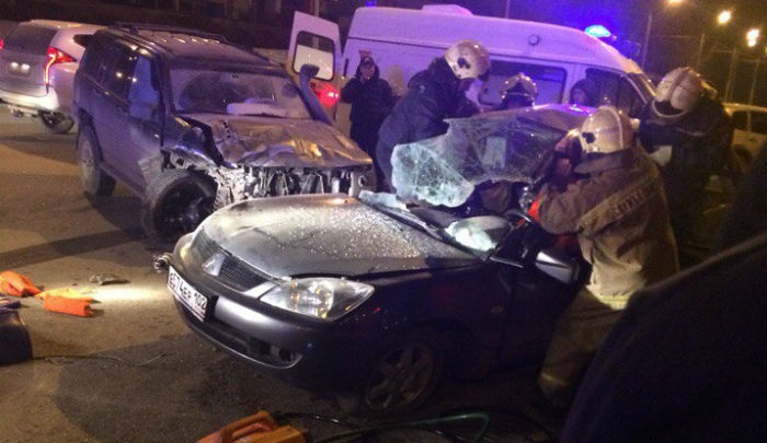 Подробности аварии в Уфе: пассажирка умерла, водитель попал в больницу