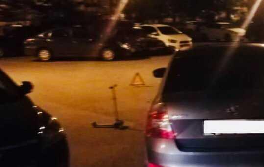 Уфимка наSKODAOctavia сбила трехлетнего мальчика на самокате