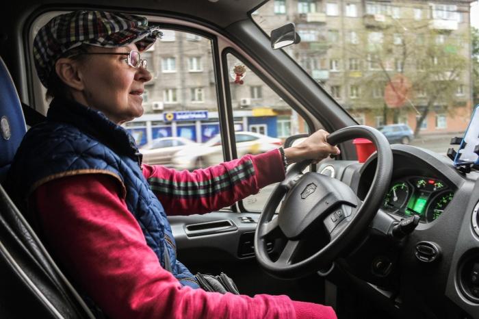 Ольга за рулём c 18 лет