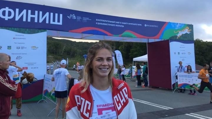 Юлия Ефимова завоевала второе золото чемпионата Европы в Глазго