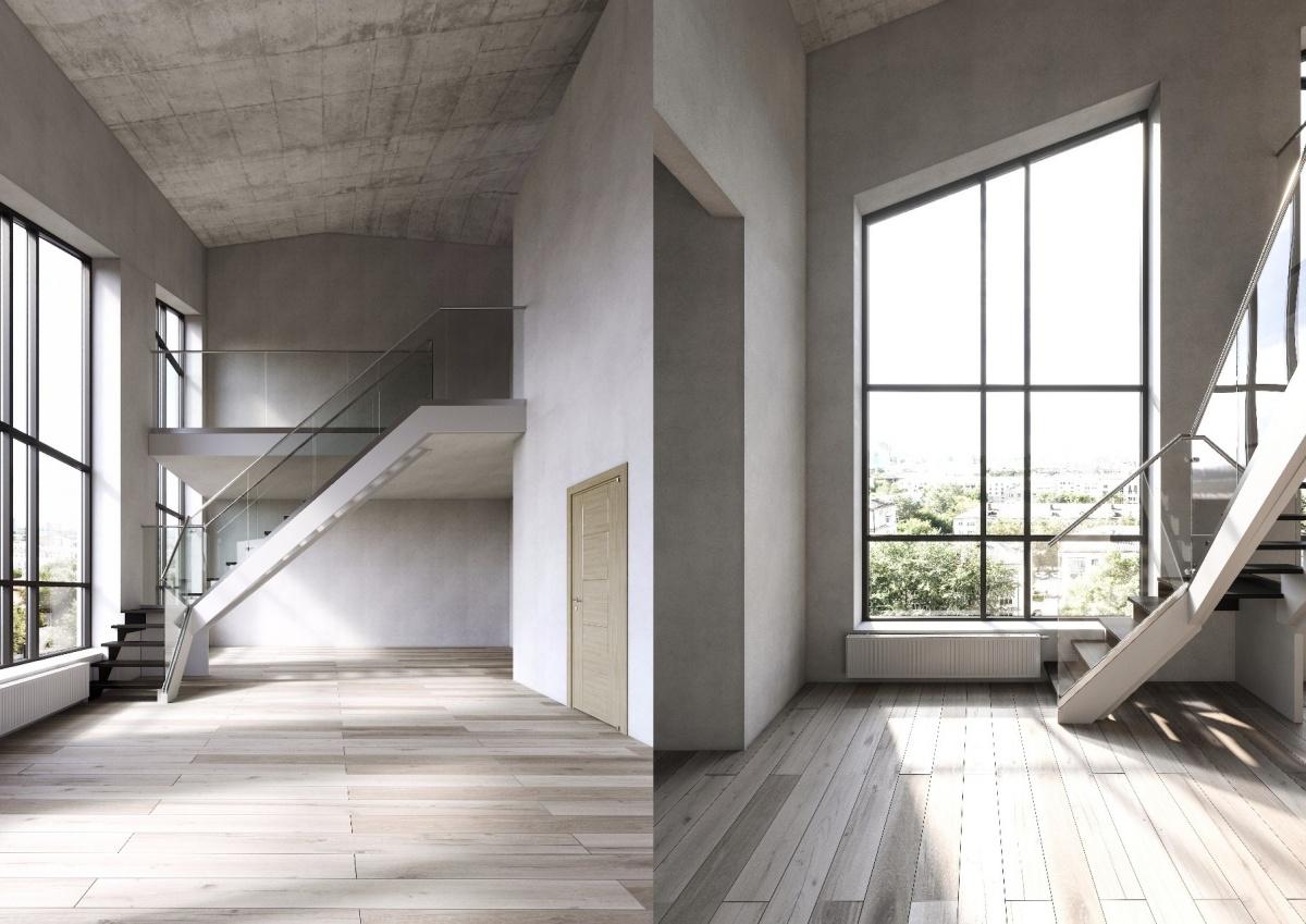 Квартиры с 5-метровыми потолками будут расположены на верхних этажах дома