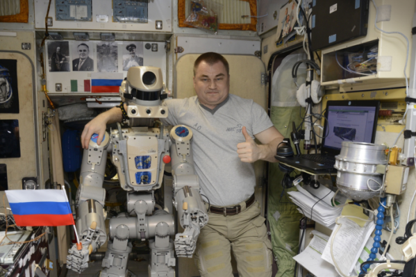 Алексей Овчинин на Международной космической станции