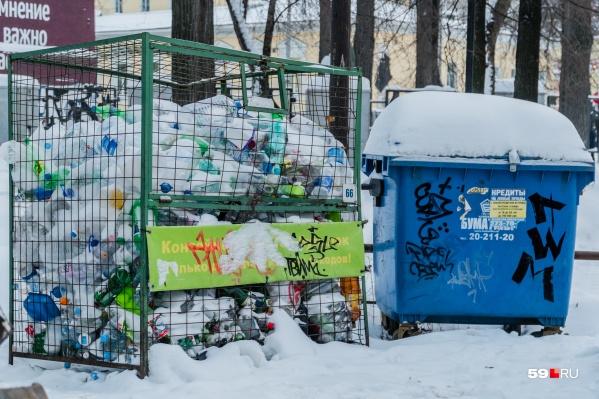 Пока в Перми отдельно собирают только пластик