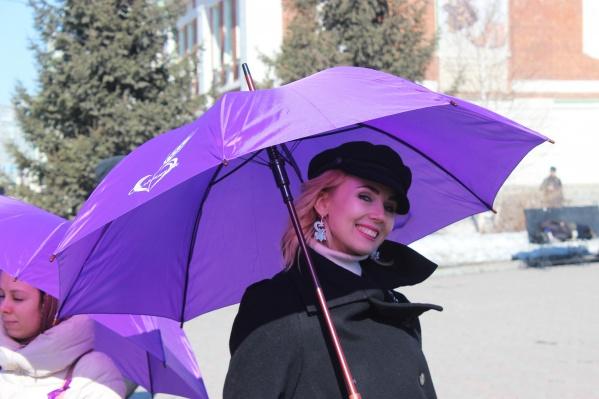 В Первомайском сквере впервые прошел флешмоб, посвящённый Всемирному дню эпилепсии