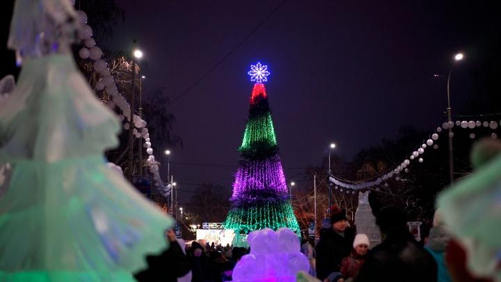 В Омске появился список мероприятий на Новый год и Рождество