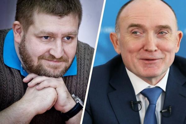 У Дмитрия Моргулеса (слева) оказался свой взгляд на работу Бориса Дубровского