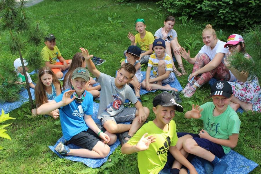 Подарок детям от лагеря 419