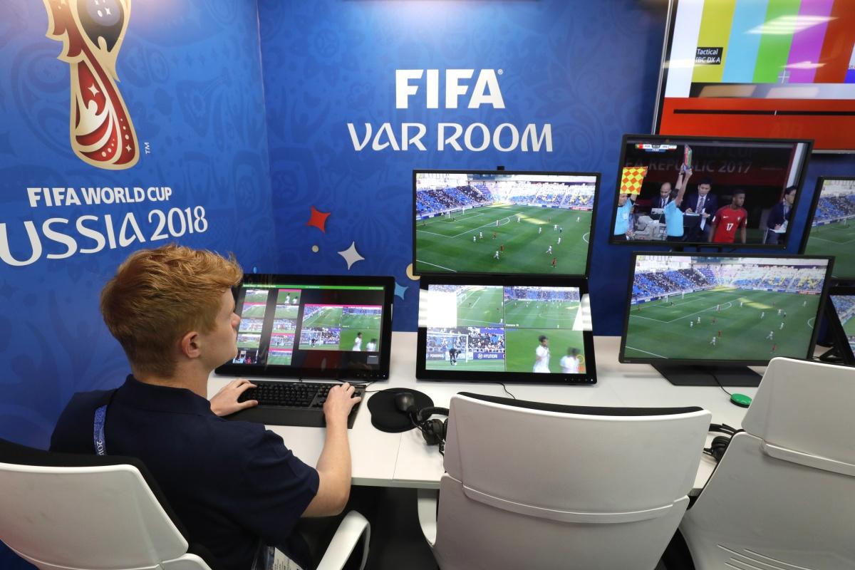 Во время чемпионата мира для судей были созданы специальные комнаты