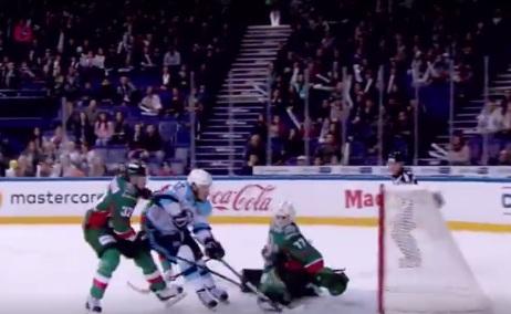 Видео: гол «Сибири» в казанском матче вошёл в число лучших за неделю