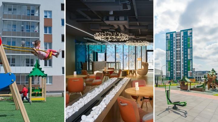 С комнатами для лодок и спортзалами: топ самых современных дворов и подъездов Екатеринбурга