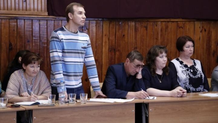 Учителя из Звериноголовского района записали обращение к президенту Путину