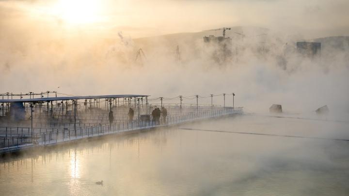 Морозные ночи и гололед: первые дни февраля напомнят красноярцам о настоящей зиме