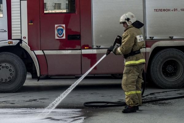 Пока причина пожара предварительная