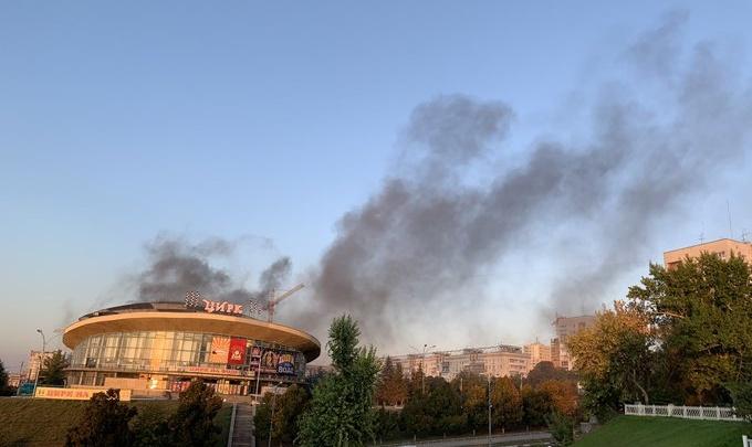 Неприятный запах и пожар: в Самаре проверят стройку нового Дворца спорта