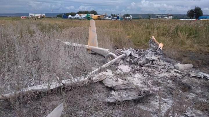 «Рухнул под прямым углом»: опубликовано видео крушения самолёта под Красноярском