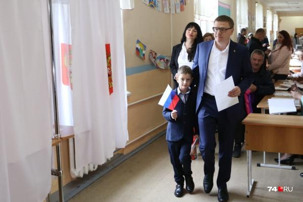 Алексей Текслер признался, что на выборах губернатора проголосовал за себя