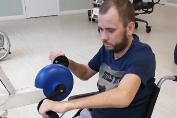 Игорь проведёт в реабилитационном центре 21 день