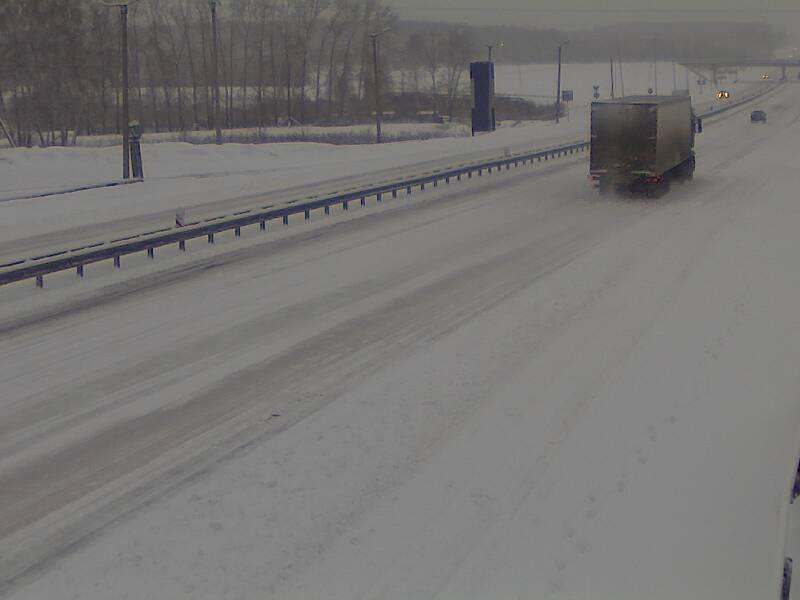Закрыт участок трассы от Миасса до Челябинска