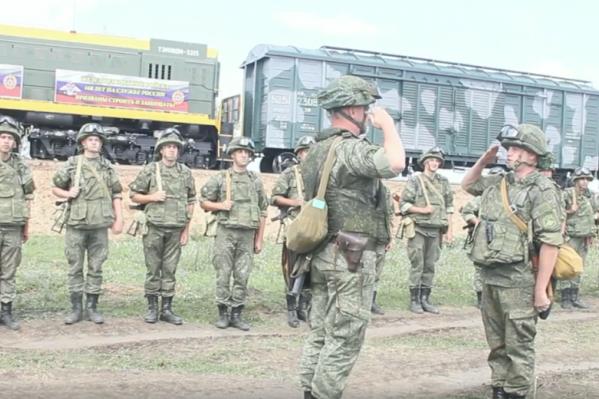 6 августа — День железнодорожных войск. Встретили профессиональный праздник прямо на службе