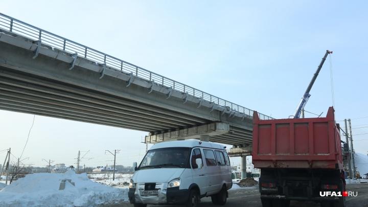 Новый мост соединит берега реки Уфы около Шакши