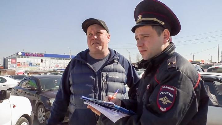 В Ростове задержали вымогателя, требовавшего деньги за парковку в бесплатном месте