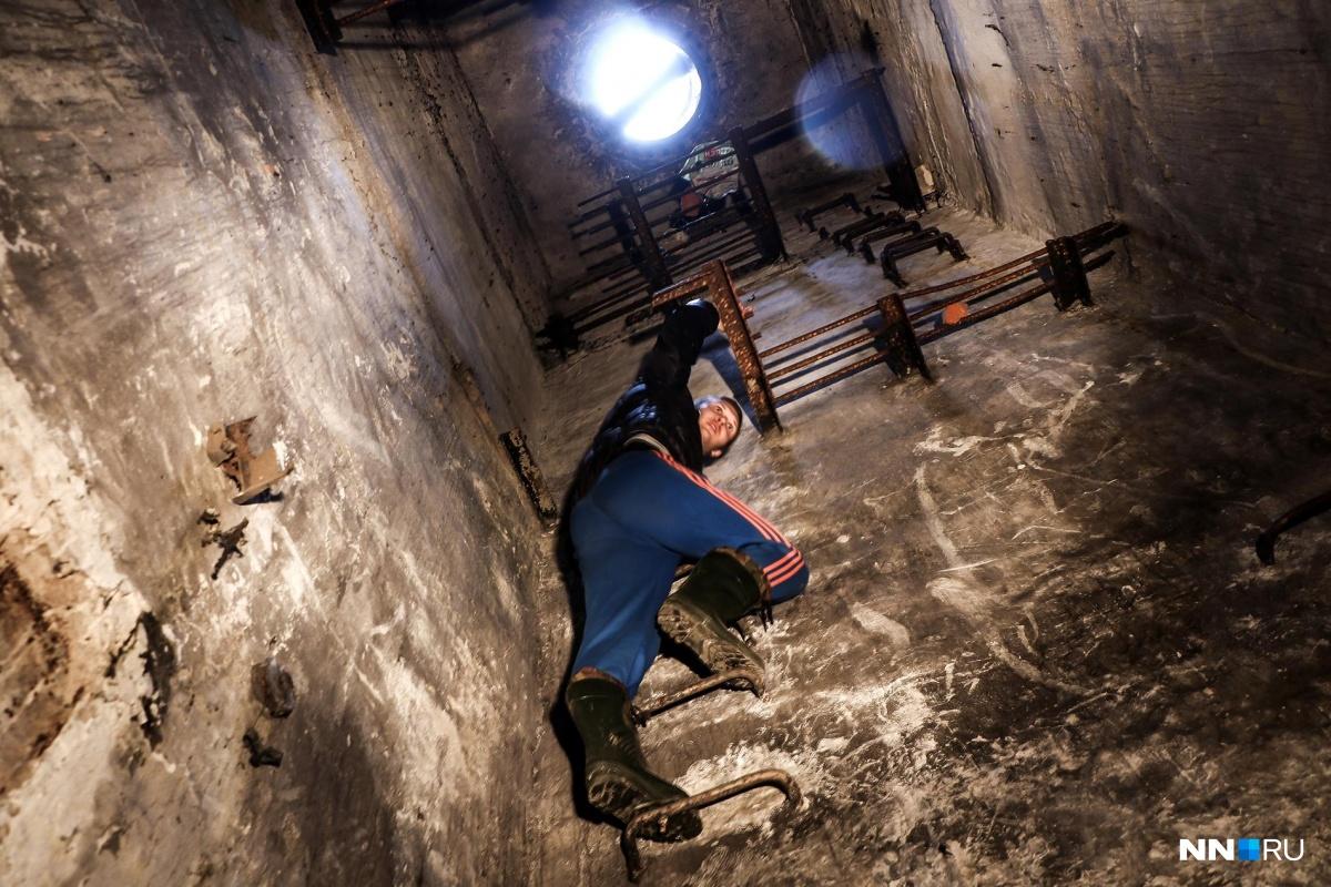 В бункере есть места— мечта скалолаза