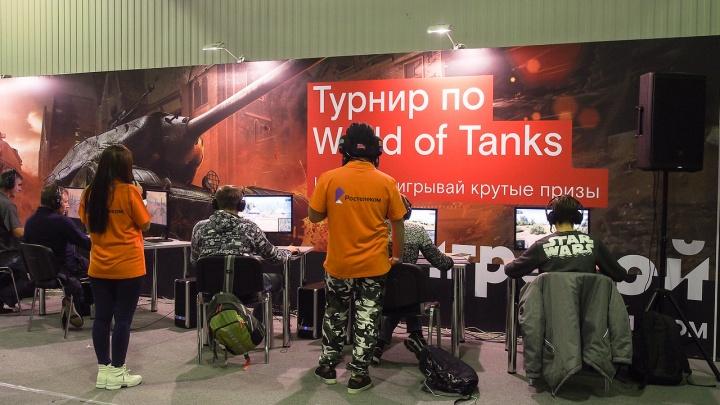 Ростелеком определил победителей турнира по World of Tanks на «КиберПатиШоу» в Краснодаре