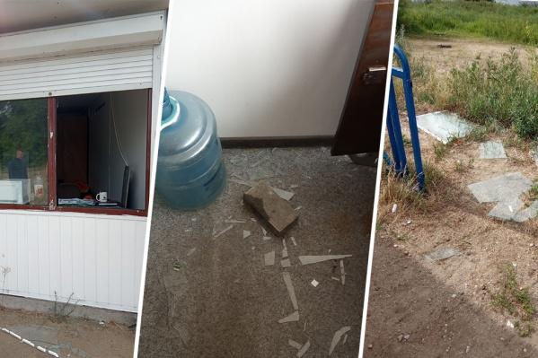 Спасатели обнаружили следы взлома, когда утром пришли на работу