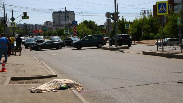 Стало известно, когда на Солнечной и Губанова установят пешеходные ограждения
