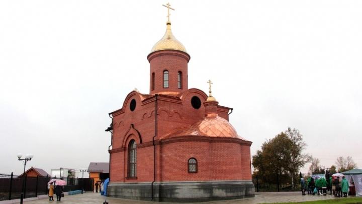 В Шадринском районе на деньги свердловских спонсоров построили новый храм