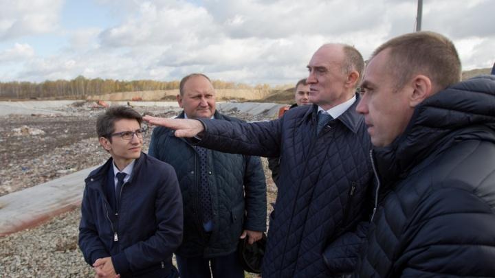 «Не надо стесняться»: полпред оценил работу Дубровского по решению мусорной проблемы в Челябинске