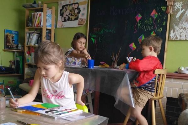 Детей обучают сами родители— они уверены, что школа не даёт ребёнку свободы