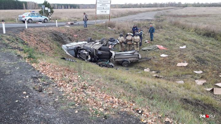 «Машину раскидало по дороге»: в аварии с переворотом под Челябинском погибла пассажирка