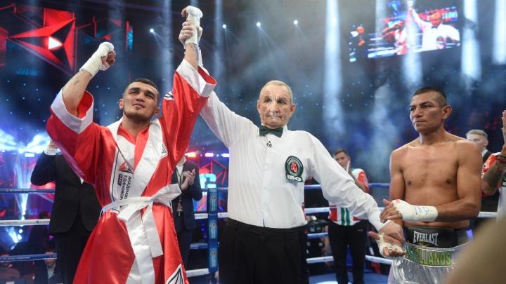 В Екатеринбурге Рахимов нокаутировал мексиканского боксера и защитил титул чемпиона мира