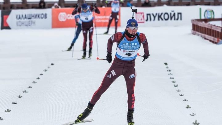 Биатлонист из Башкирии стал победителем на чемпионате России
