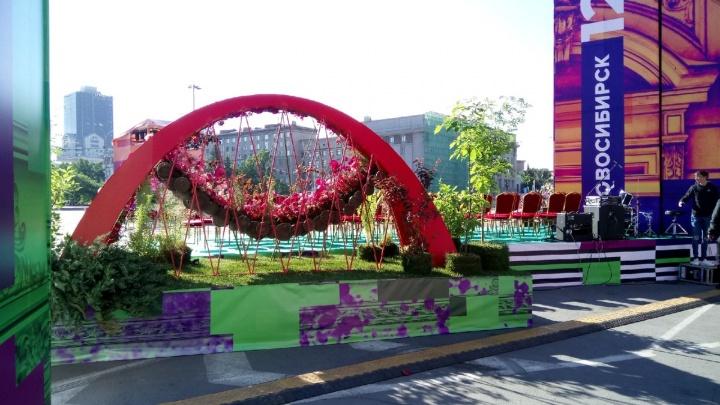 Новосибирцы начали собираться в центре, чтобы отпраздновать День города