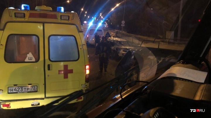 Начинающая автомобилистка и ее маленький пассажир пострадали в ДТП на Дамбовской